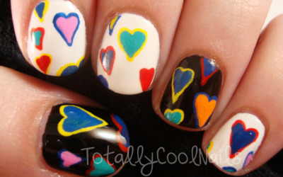 totallycoolnails:  Dooney and Bourke Nails  This girl's AMAZING <3