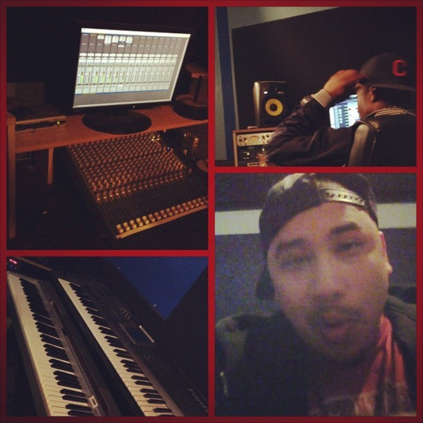 I was #SoundtrackStudios #SOMA SF & dropped a 16 for #UnitedKings #OneTakeJake #OneShotScott #Beats #Rhymes #life #HipHop #SF #BayArea #Fly #teambackhand #firstdirt  (Taken with instagram)