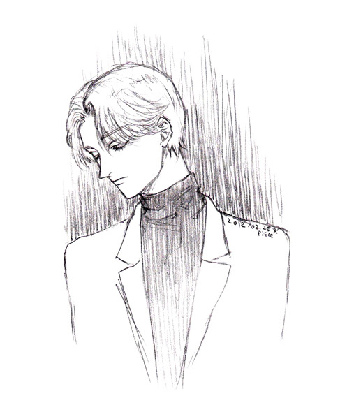 Johan Liebert from Monster by Naoki Urasawa I haven't drawn Johan in forever! I am planning to read the manga again in the summer :)