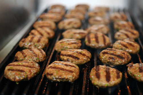 aperture24:  mini kofta on the grill. in the kitchen