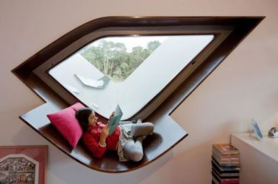 homedesigning:  How cool is this reading nook?