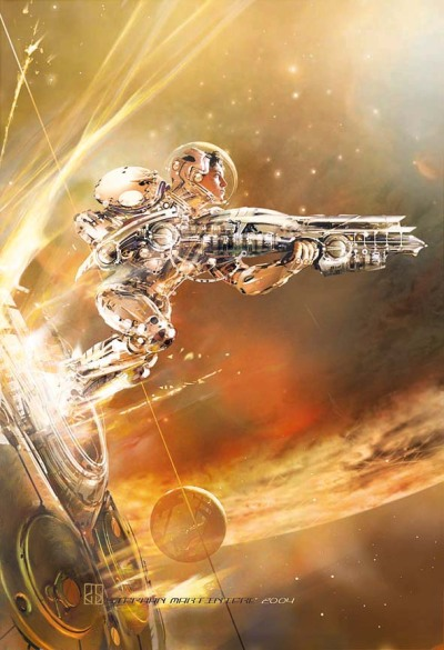 brighter-suns:  Hostile Takeover by Stephan Martiniere