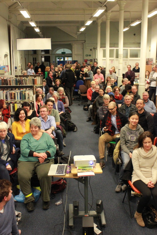 Screening last night at Tate South Lambeth Library. Thanks to everyone who attended and made it such a great night. Particular thanks to Michael from the Library and Christina from Digital Tuesdays, as well as the Friends of the Tate South Lambeth Library for all their hard work making the event happen.
