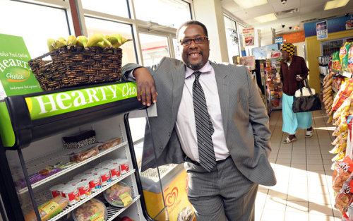 "daughtersofdilla:  Wendell Pierce to Open a Grocery Store in New Orleans Healthy Foods in non-rich neighborhoods:  ""The store will offer a free shuttle to anyone who spends $50 or more, so they need not walk or take the bus with heavy bags. Each month, the store plans a cookout (which in New Orleans usually means a crayfish boil) to raise money for the community.""  Read more: NYTimes.com"
