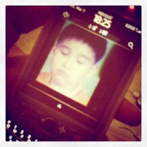@rudyeffendiii #childhood #4YO #wink (Taken with instagram)