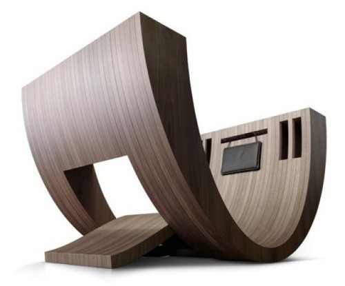 MEDITATIVE READING SPACE: KOSHA CHAIR BY CLAUDIO D'AMORE