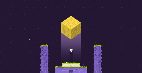 "An interview with the creator of Fez, Phil Fish, from the GameCity festival in Nottingham, England.  The way that you're presenting your game isn't particularly normal. No, but it is the ideal way, though. The whole thing came from Ian Simons. He approached me and said, ""Hey, do you want to do something with Fez?"" I said I'd love to, but that I'd like to do something a bit different, because I don't think Fez demos very well in five-minute bursts. You don't have time to let it sink in; the game is a slow burn; it's all about the atmosphere and getting lost into that world. And he said, ""We have this lounge that's in a theater we're doing some stuff in."" And he sent me a picture and I saw the bowl chair, and it was perfect.  It only gets more personal and more interesting the further you scroll: http://killscreendaily.com/articles/why-cant-we-just-have-indie-games/"