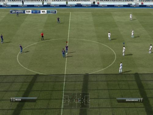 For Kill Screen, why FIFA is more like a war game than a sports simulation.  If you see superstar international soccer players like Didier Drogba and Demba Ba line up for their teams at the Africa Cup of Nations this month, it will be hard to imagine any connection to the sharp finger work of, say, a young Korean playing FIFA, staring calmly at a screen in a television studio in Seoul. The tournament, held this year in Equatorial Guinea and Gabon with a lot of help from Chinese investment into stadiums and infrastructure, has received a considerably smaller level of media coverage than both club and country tournaments in other parts of the world. Correctly or not, it's considered a purer soccer experience: with less hype, the soccer can speak for itself. There's less of the conservatism you might have found at the 2010 World Cup, and fans have yet to become the self-loathing cynics of many failing Western teams. The impoverished African host countries could hardly be more different than the competitive, technologically advanced economies of South Korea or Germany, two places where e-sport, that questionable moniker, has become popular.  A longish read, but it has another great illustration: http://killscreendaily.com/articles/essays/possession-ball/