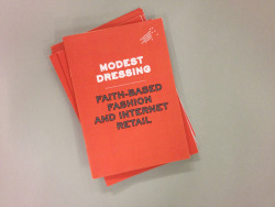 This is a job we did a while back for LCF. A little booklet on Modest Dressing which was purely typographic. Very 'modest' typography!