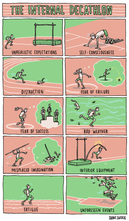 incidentalcomics:  The Internal Decathlon