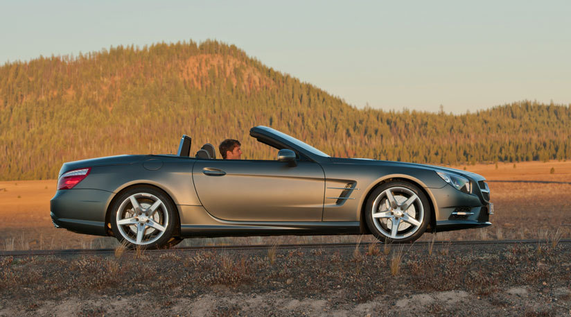 Mercedes SL 500. There are no words necessary.