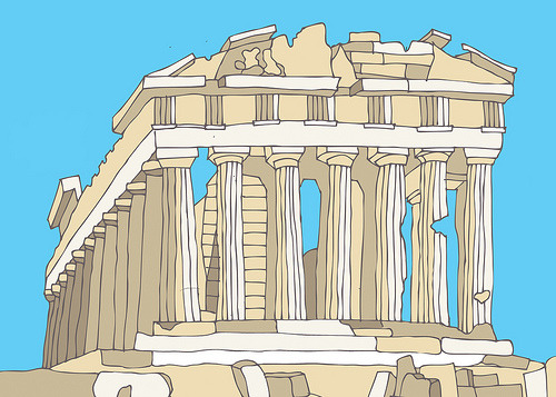 Traditionally Greek : Parthenon (by DimitraTzanos)