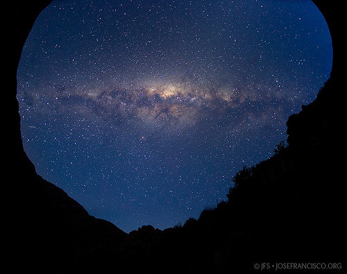The Milky Way over Cancana  by josefrancisco.salgado