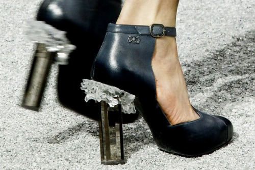 Crystal heeled Shoes from Chanel F/W12 collection. THEY.ARE.EVERYTHING.