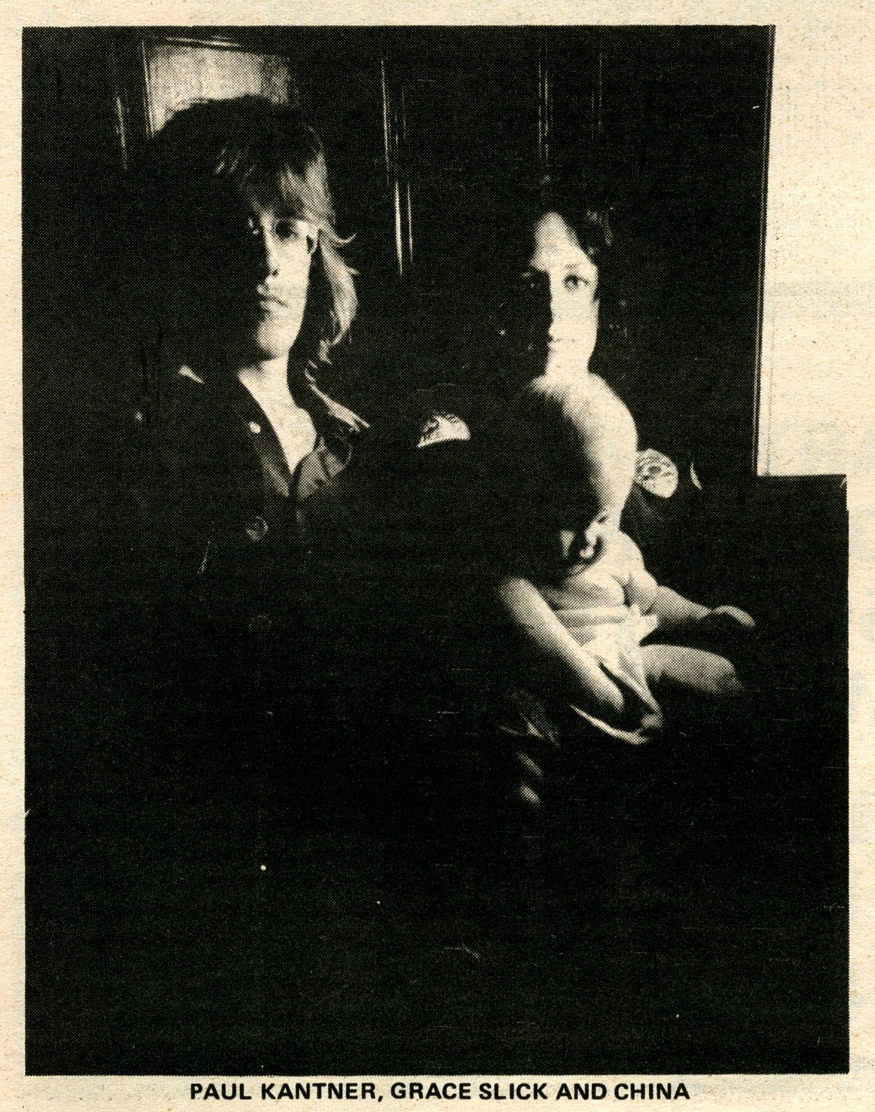 Paul Kantner, Grace Slick & China