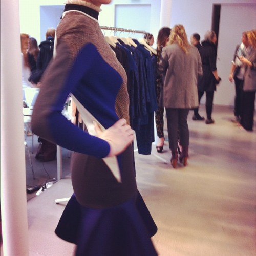 Olympic tweeds at Stella McCartney Photographed by Gloria Baume