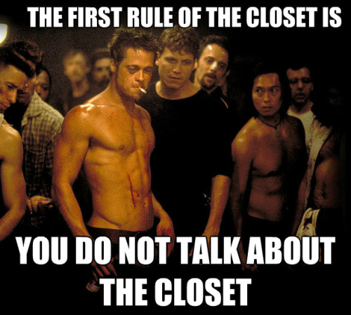 Gay Girls Problem #30: The Closet.