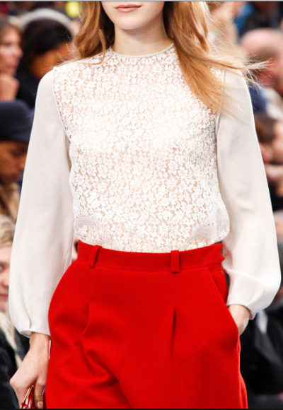 details @ chloe fall 2012 rtw via vogue.com