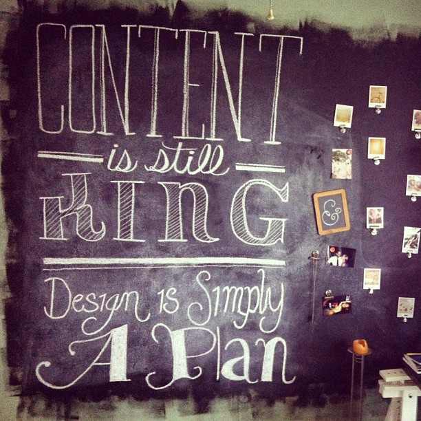 #chalkboard #chalk #lettering #typography #creativity #art #design #quote  (Taken with instagram)