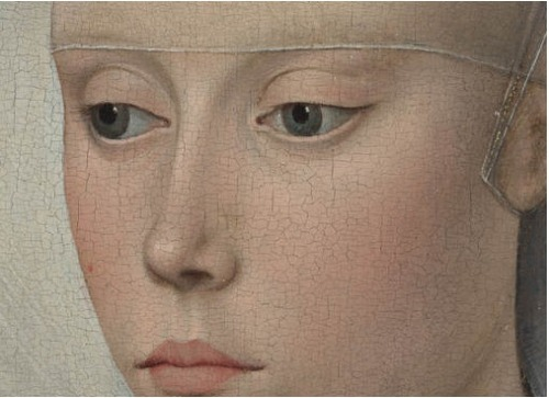 fletchingarrows:  blank—mind:  Van der Weyden, Portrait of a Lady detail
