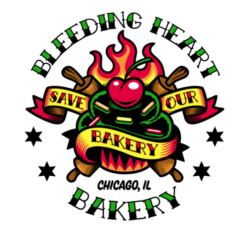 Designed a tattoo for an upcoming Bleeding Heart Bakery event! Follow Harebrained on Facebook!