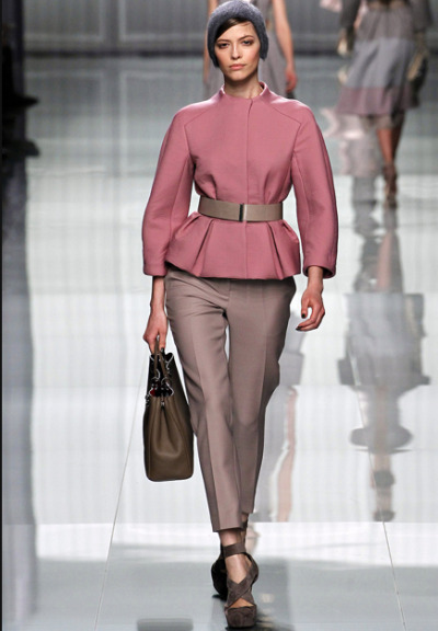 can't wait for peplum jackets for fall  christian dior fall 2012 rtw
