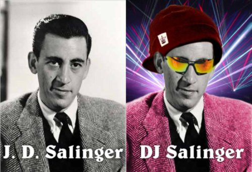 DJ Salinger   If there's one thing he hates, it's DJs that use iTunes.