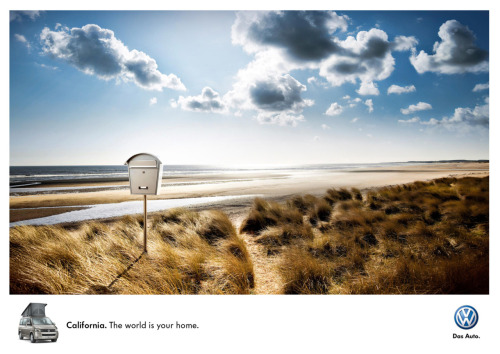 Volkswagen: California - The world is your home.