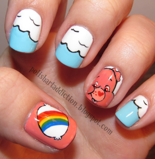 care bear nails