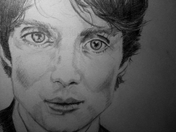 inhernowhereland:  I draw my favourite villain, Cillian Murphy.