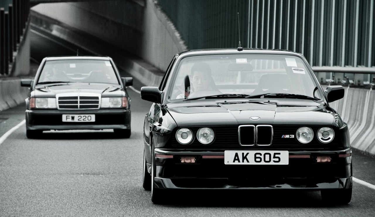 mercedes and bmw