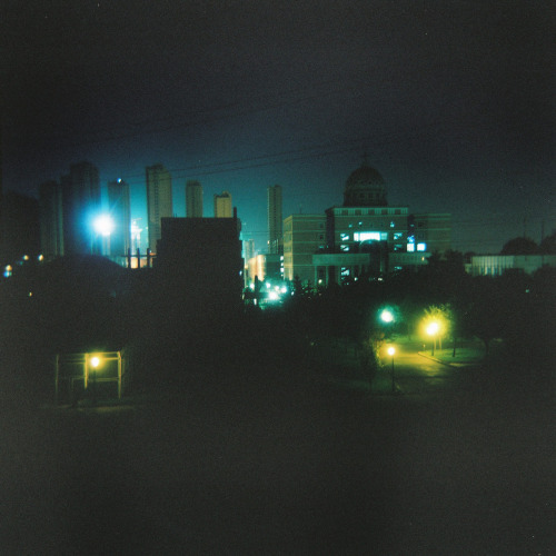shot with the Holga 120N from the balcony of my apartment in Anshan, Liaoning, China