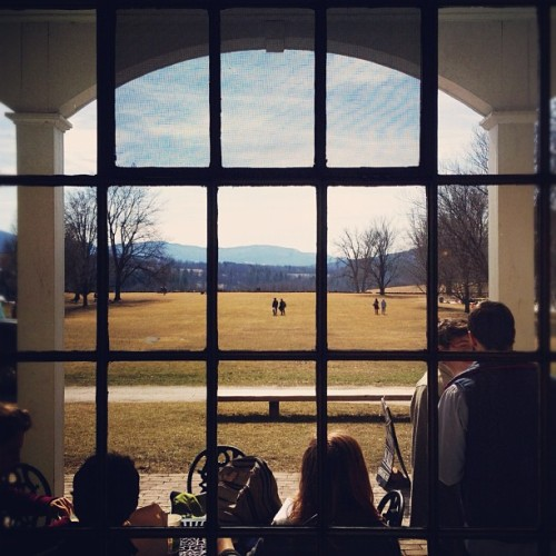 benningtonpostbac:  Beautiful springy day on campus! (Taken with instagram)
