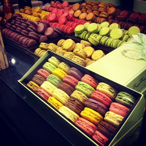 Macarons galore Photographed by Eva Chen