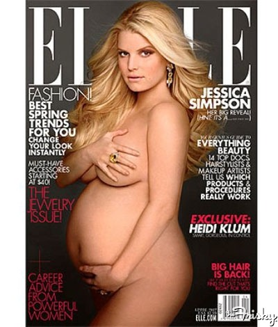 15 Stars Who've Played Sexy Cover Girl While Pregnant - The Frisky