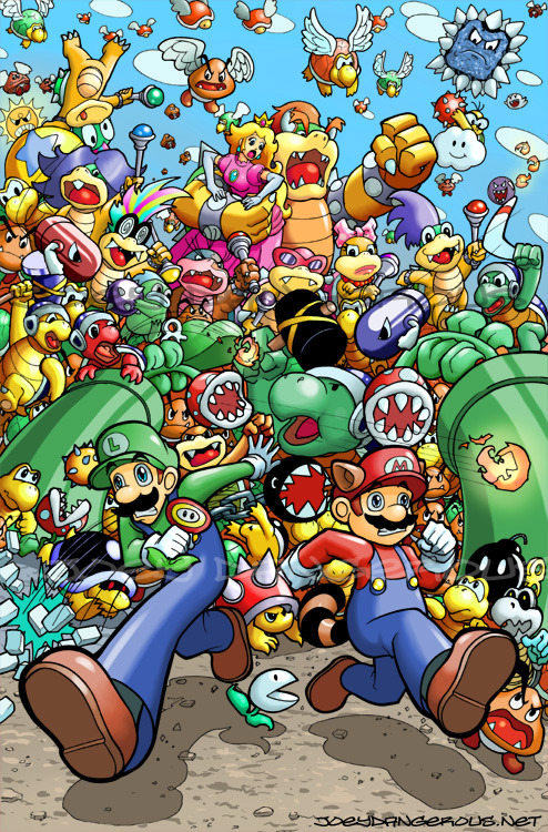 nerdwire:  Super Mario Bros. 3 by Joey Dangerous