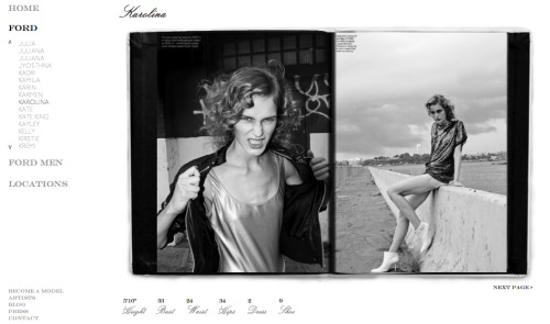 shots i styled of Karolina Waz. photgraphed by patrick michael butler. featured in her FORD portfolio. [L] gold leotard: vintage DKNY; jacket: topshop [R] top: proenza schouler; booties: narciso rodriguez