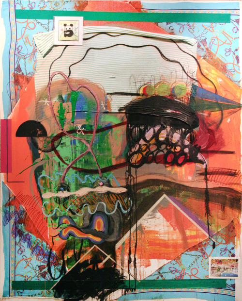 25번째 3월My 25th March 1622 x 1303 mmmixed media on canvas2011
