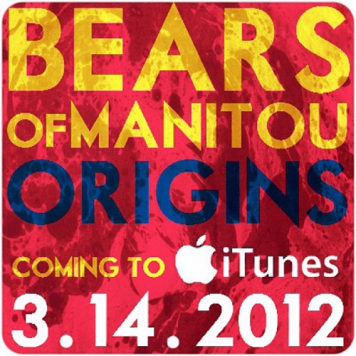 mariatresa:  It's finally here!! The #BearsofManitou album release! March 14 you can get our album Origins on iTunes 😄🎶 (Taken with instagram)