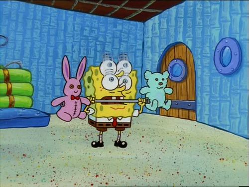 """SpongeBob SquarePants - MuscleBob BuffPants"" (1999)"