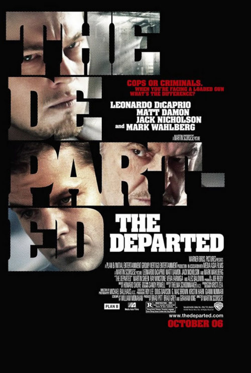 The Departed (2006) Tonight's film #2.