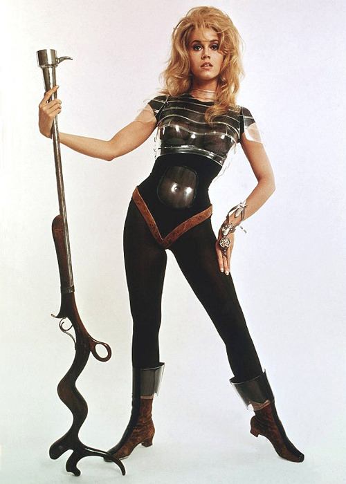 jane fonda /// barbarella
