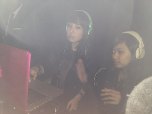 "Small Girls PR's Mallory as DJ Retweet & Bianca as ""Hypegirl"" We DJ'd Tribeca Grand's #TechTuesday this week!   In case you missed it, let us paint a visual picture for you… Two small girls (with linked headphones) and one tall dapper gent (Tribeca Grand's Steven Rojas) playing a mix of dance, mo-town, and hip hop jamz to a crowded room of tech folks, networkin while workin their dance moves & sippin champagne. Get a sample of a few selections from our set on Spotify!  ""212"" - Azealia Banks ""Tony the Beat"" - The Sounds ""Sad Sad City"" - Ghostland Observatory (Pretty Girls & Lasers Remix)  ""Too Dramatic"" - Ra Ra Riot (Anamanaguchi Remix) ""Late Night Ring"" - Boutros ""Look At Me Now (Two Weeks)"" - Childish Gambino ""When We're Dancing"" - Twin Shadow ""Love Is Like A Heat Wave"" - Martha & The Vandellas ""Love You Like A Love Song"" - Selena Gomez ""Please Mr. Postman"" - The Marvelettes ""Not in Love"" - Crystal Castles ""Wannabe"" - Spice Girls  We dare you not to dance in your seat. xoxo, DJ Retweet & ""Hypegirl"""