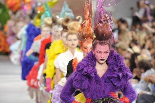 Christian Dior Haute Couture Fall/Winter 2010/2011 by John Galliano