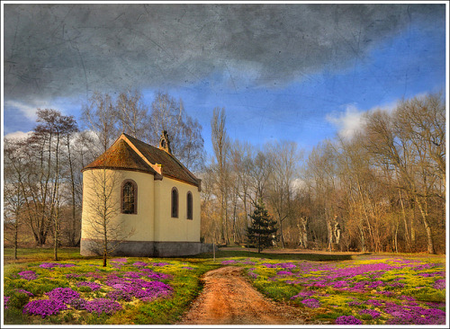 French church by Jean-Michel Piraux