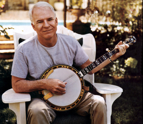 Steven Martin is one of the greatest banjo players!
