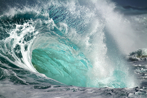 #Photography : Swirling surf