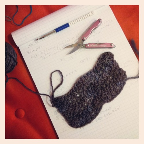 Swatching funtimes. #crochet (Taken with instagram)