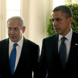 "Can Israel count on Obama's support if it launches a strike?""When the President of the United States repeatedly says he's got your back, and in precisely those words, what more can you ask for? Yet as I read Obama's interview with Jeff Goldberg in The Atlantic, then his speech to the AIPAC convention, and finally reports of his meeting with Netanyahu, I felt increasingly uneasy""-Yossi Klein Halevi, Why Israel Still Can't Trust That Obama Has Its Back"