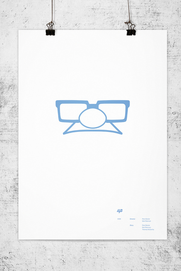 Minimalist Movie Posters - Up
